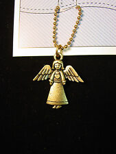 """JJ"" Jonette Jewelry Bronze Pewter 'ANGEL - Hip Hugger' Chain"