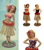 Car Dashboard Hula Girl - Pin Up Hula Dancer Wiggle Hip Motion - Small / Large