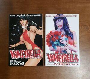 Vampirella Vol. 1 & Vol  2 SET TPB GN OOP NEW Dynamite Comics 2015 Nancy Collins