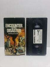 Encounter With Disaster VHS Rare