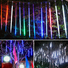 Meteor Shower Falling Rain Drop Snow Icicle Xmas Party Tree String Lights Decor