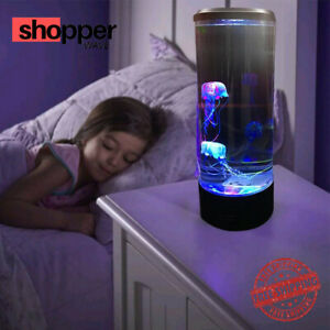 Modern Bedside Lamp Hypnotic Jelly Fish Table Lamp Pair for Bedroom Living Room
