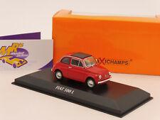 "Maxichamps 940121600 # Fiat 500 L Cabrio Baujahr 1965 "" rot "" 1:43"