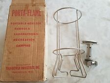 EXTREMELY RARE VINTAGE Porta-Flame Propane Trumbower Portable Camping Heater