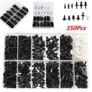 350pc Car Automotive Push Retainer Pin Rivet Trim Clip Panel Moulding Assortment