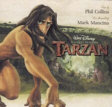 WALT DISNEY'S TARZAN Soundtrack CD - Digipak - Pop-Up Cover - Phil Collins