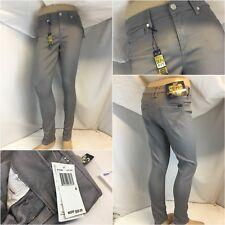 Seven Jeans Sz 4 Gray High Rise Skinny Cotton Poly Lycra NWT $69 YGI C8-485