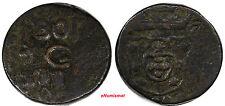 India-Portuguese GOA JOSE I (1750-1777) 1771 1/2 Tanga, 30 Reis 19,50 g. KM# 135