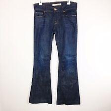 J Brand Lovestory Flare Jeans Women's Size 29 Dark Wash Denim