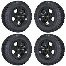 "18"" CHEVROLET SILVERADO Z71 1500 BLACK WHEELS RIMS TIRES FACTORY OEM SET 4 5647"