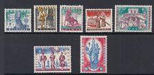 BELGIUM : 1958  Anti-Tuberculosis & other Funds set SG 1667-73 MNH