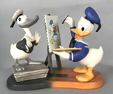 WDCC Donald Duck Figurine - Donald Then and Now - Walt Disney COA