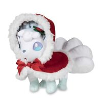 Pokemon Center Alola Vulpix Rokon Holiday Limited 2017 Plush Doll Stuffed Toy
