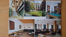 Cartolina Postcard BADEN-BADEN Haus des Kurgastes viaggiata 1970 con francobollo