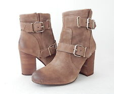 NWB Vince Camuto Women's Simlee Leather Boot Size 7.5 B (US) Wild Mushroom