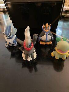Lot of 4 Bandai Pokemon Kids Finger Puppets