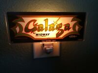 GALAGA Arcade Marquee Night Light