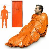 Hiking Emergency Sleeping Bag Thermal Waterproof Survival Camping Travel Bag
