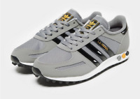 Mens Size 6-13 UK Adidas LA Trainers Limited Edition Sneaker Grey Shoes Low Tops