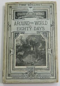 Jules Verne~Around The World In Eighty Days~PB~UK~1880