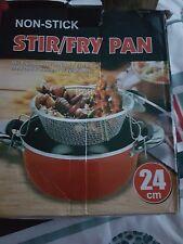 Chip Pan Ø 24cm Saucepan Fryer Pot   Red