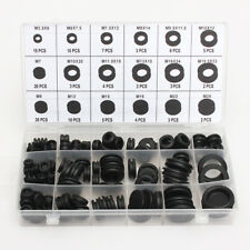 125Pcs Rubber Sealing Ring Gasket Grommets Kit Car Truck Boat Assortment AST29
