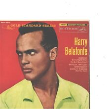 HARRY BELAFONTE--HARD COVER-4-SONG-EP+45-GOLD STANDARD SERIES--PS--PIC--SLV