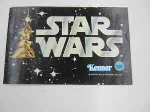 1977 Star Wars Kenner EARLY BIRD Figure Set Small Mini Catalog First 12 Mail-In