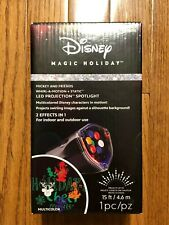 Disney Christmas Lights Projection LED Mickey Mouse Spotlight Holiday Yard Decor