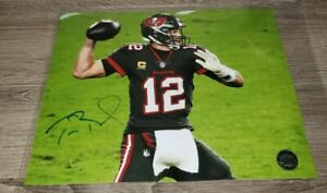 Tom Brady Signed Autogrpahed 8x10 Photo