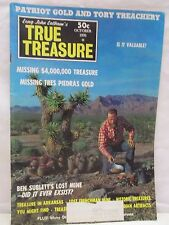True Treasure Magazine October 1970 Hunting Lost Mines Gold Cache Sunken Buried