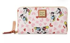 Mickey and Minnie Mouse Love Dooney & Bourke Wristlet Wallet In Hand Valentines