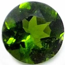NATURAL ROUND-CUT GREEN CHROME DIOPSIDE GEMSTONE  5.0 mm AWESOME GEMS