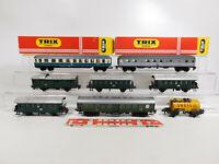 CO3-2# 8x Trix Express H0/DC Bastler-Wagen: 3350 +  3379 etc, defekt/gebraucht