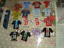 lot just foot maillot 2009 kit set transfert 16 magnets sans doubles