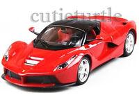 Bburago Ferrari Race & Play Ferrari Laferrari 1:24 Diecast Model Car 26051 Red
