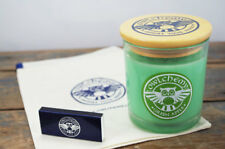 Green Apple 75 g luxury candle with drawstring bag and matches