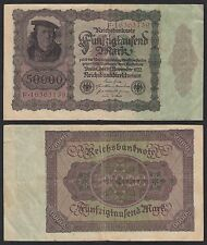 Alemania - Germany   50000 Mark   19-11-1922   Pick 80   BC/MBC = F/VF