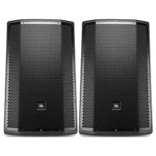 "JBL PRX815W 15"" 2-Way 1500W Active PA WiFi Main Speaker Monitor System Pair"