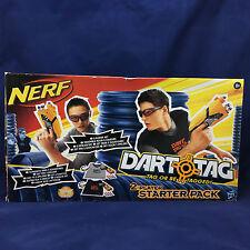 Nerf Dart Tag 2 Player Starter Pack Set 38118 Guns Glasses Vests 28 Bullets
