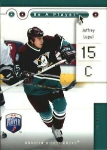 2005-06 Be A Player Hockey Card #s 1-90 (A5246) - You Pick - 10+ FREE SHIP