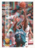 LARRY JOHNSON Upper Deck Pro View 3D 1993-94 Basketball Card #30