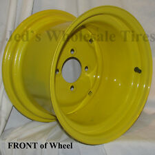 "1) 12"" 12x8.5 4/4 RIM WHEEL fits some John Deere Garden Lawn Tractors Mowers"