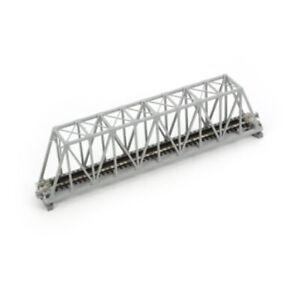 "Kato 20-433 - 248mm (9-3/4"") Single Truss Bridge Silver - N Scale"