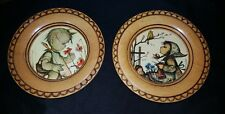 Hummel Kathe Wohlfahrt Set Wooden Frame Decoration Wall Plate Vintage Collection