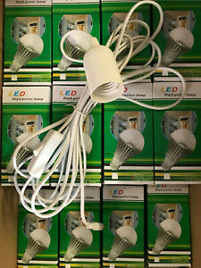 LAMPADE A LED STOCK DA 30 PZ  8W 12V E27