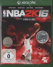 NBA 2K16 Metalcase Edition inkl Steelbook XBOX One XB1, NEU & OVP