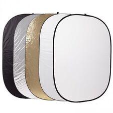 Godox 5 in 1 60x90cm Studio Light Diffuser Oval Reflector Disc + Carry Bag