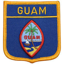 "Guam Patch - Micronesia, Hagåtña, Dededo, Guamanian Badge 2.75"" (Iron on)"