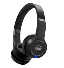Monster Clarity HD Bluetooth Wireless Headphones On-Ear BLACK-NEW